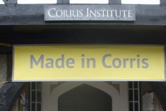 … held in the Corris Institute, mutually promoted to our joint advantage.