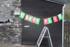 In Corris over the weekend, there is a Craft Fair …