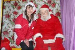 Saturday, 12.12.15. Santa and his helper …