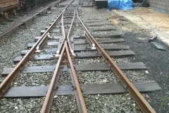 Earlier in the week, fresh white paint has started to appear on rail ends and trip hazzards.
