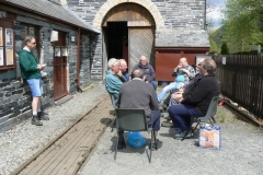 Chris, Bob, Bill and Charles were around on Tuesday carrying out their own programme