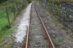 … after first adding to the ballast drop at Maes y Llan garages, Corris …