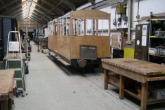 … and soon the Carriage Shed is back ready for production …
