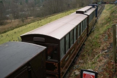 … as stock is re-shunted for Santa Trains …