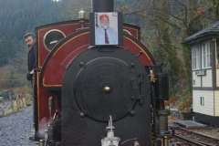 … for a Special Train for Derek Morrison-Smith's family & friends to dispose of his ashes.