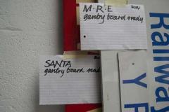 …the gantry advertising boards …