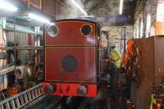 Saturday, 10.3.2018. Trefor has trial steamed No. 7 prior to its boiler hot test next weekend …