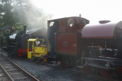 ... before No. 7's boiler is blown down.