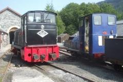 ... while at Maespoeth, we have two diesel locomotives on display ...