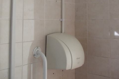 In the past few days, electric hand dryers have been installed in the Gents' and Ladies' loos …