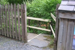 … and rather than take a fence,