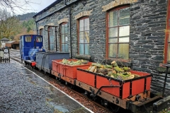 A fully loaded rake of heritage wagons, earning their keep. They are a real credit to those who restored them to this condition.