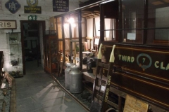 Recently, displays have been re-arranged in the Coach House of the Museum in Corris.