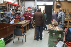 … in a workshop full of activity!