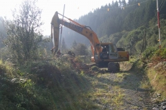 … to re-commence earthworks!