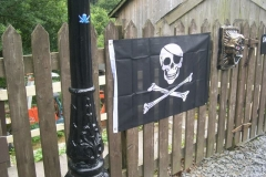 … during the Pirate Weekend …