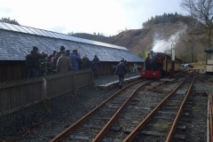 … before joining its train for a number of run-pasts before going up to Corris for more photos to be taken there.
