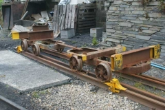 Monday, 15.9.14. A strange piece of rolling stock has appeared …