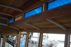 The windows and ventilator have been fitted in part of the clerestory of No. 22 …