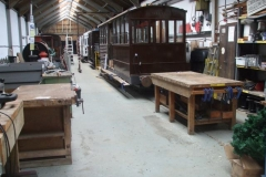 … so that the Carriage Shed can be used as a workshop once more!
