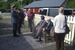 … as staff, visitors and guests chat on the platform.