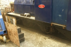 … the reinstatement of axleboxes on loco No. 6 …