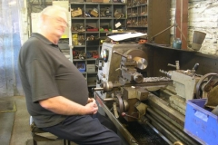 Graham is turning down an adaptor for the main steam valve of No. 7 …