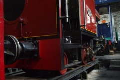 At Maespoeth, No. 7 is once more an 0-4-2 but there is still re-assembly work to complete.
