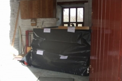 Monday, 12.2.2018. The Parcels Office at the Museum has been secured …
