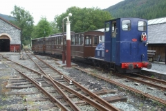 However, it means the first (ecs) train is propelled up to Corris by No. 6.