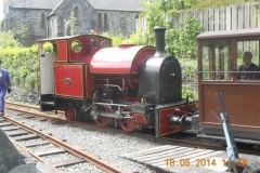 A final look at the loco before leaving...