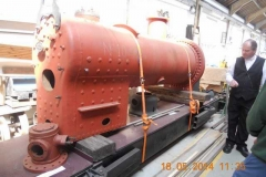 ... and then moves on to the boiler and other fabricated items for the Falcon locomotive.
