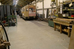 Back in the Carriage Shed, the floor is cleared for the AGM next weekend …