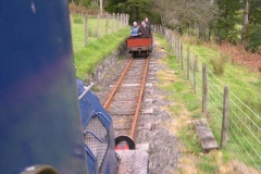 Two other waggons are added and successfully run down from Corris, at an average speed of 8mph.