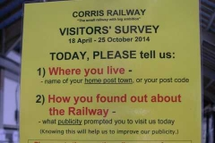 … as well as undertaking a visitor survey so that we could target our future potential visitors more effectively.