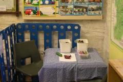 …and a children's corner!