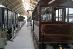 …as the carriages await collection for their day's work.