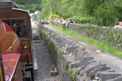 … for Race the Train with Ysgol Corris …