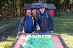 Second stop for sustenance was at the Hafren Forest picnic sight arriving at 4.30pm having covered 26 miles.