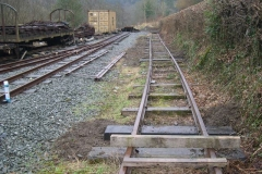 … but they almost all need spiking before the siding can again be utilised for storage.