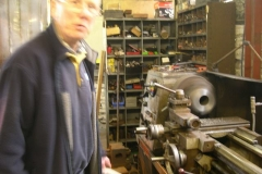 Chris is carrying on, turning axleboxes for carriage Nos. 23 & 24 …