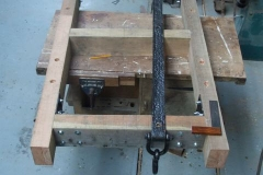 Tuesday, 26.2.2019. The underframes for a Heritage Waggon have been drilled for axleboxes and assembled …