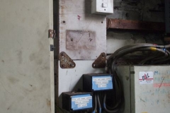 Yesterday, alterations were made to the electricity switchgear in the Engine Shed …