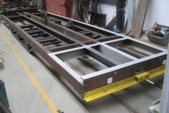 (January) Under frame ready for finish welding.