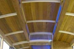 (September) Ventilators & clerestory windows fitted.