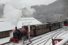 Santa's Special all ready to head for Corris.