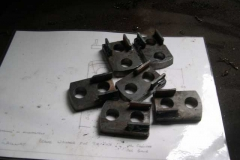 …while in the Engine Shed, brackets for the braking equipment have been fabricated …