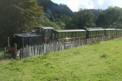 Sunday, 19.9.2021. It is a diesel service again today - hopefully steam next weekend.
