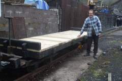 Tuesday, 21.1.2020. All planks secured, and No. 218 is ready for service again!