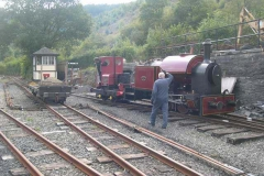 …which enabled the loco to be removed outside …